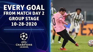 Every Goal from Matchday 2 of the Group Stage | 10-28-2020 | UCL on CBS Sports