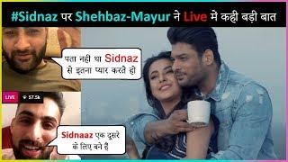Shehbaz Gill & Mayur Verma About #SidNaaz Song Bhula Dunga & Their Chemistry | Sidharth & Shehnaz