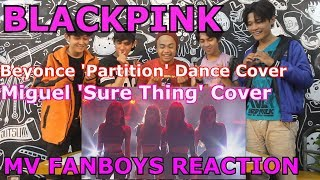 BLACKPINK - PARTITION Cover & SURE THING Cover (SBS Party People) Reaction Fanboys Version | WOW