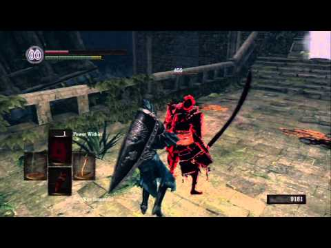 dark souls pvp hacker or a lot of health you tell me