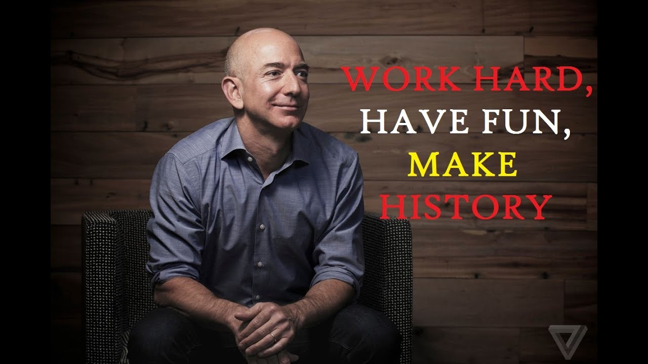 Jeff Bezos Motivation – Stubborn relentlessness