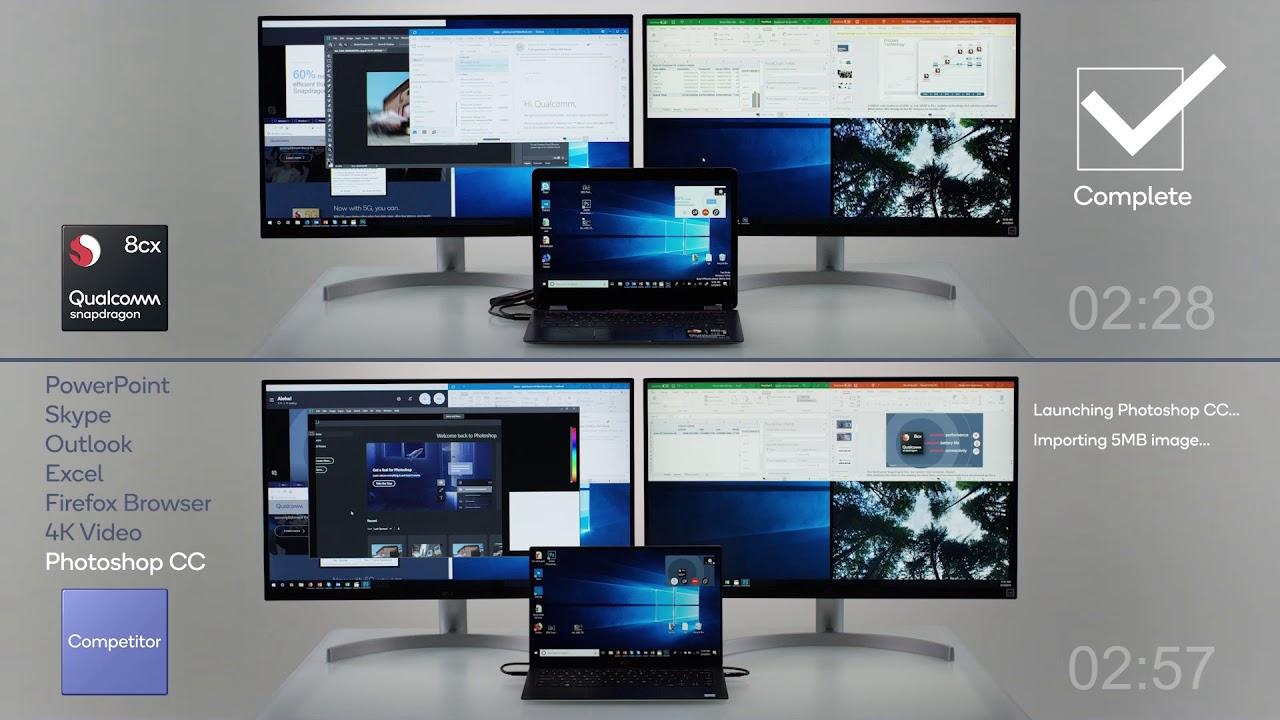 Qualcomm Snapdragon 8cx vs  Intel Core i5 | Digital Trends