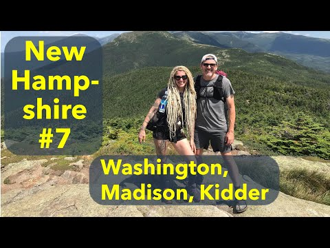 Backpacking New Hampshire #7: Mt. Washington And The Presidentials