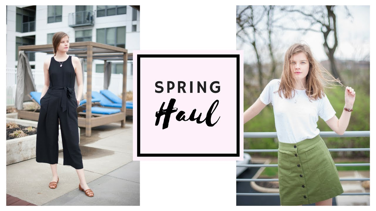 [VIDEO] – Spring 2018 Try On Haul & Lookbook! Madewell & More