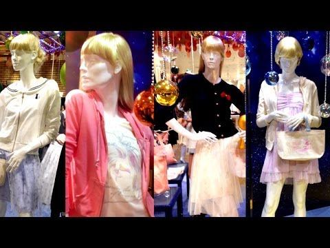 ISETAN Sailor Moon Fashion Display in Tokyo, Japan