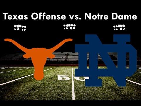 Texas Offense vs. Notre Dame (2016)