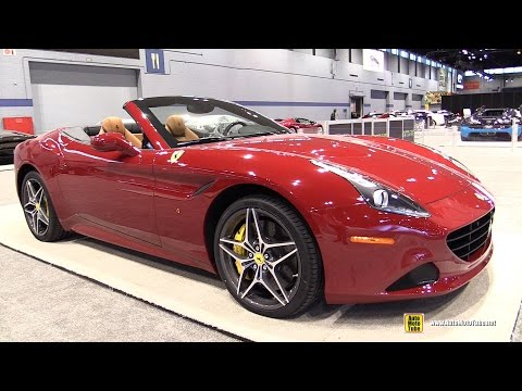 2015 Ferrari California T Convertible - Exterior and Interior Walkaround - 2015 Chicago Auto Show