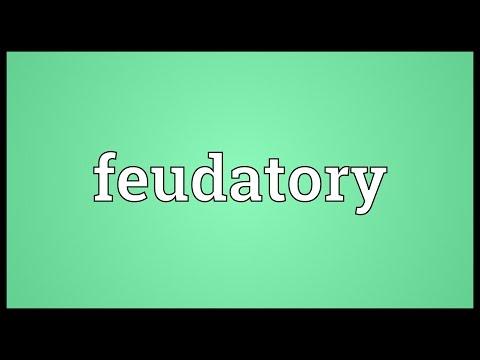 Header of feudatory