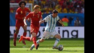 Lionel Messi vs Belgium (FIFA world cup brazil 2014)