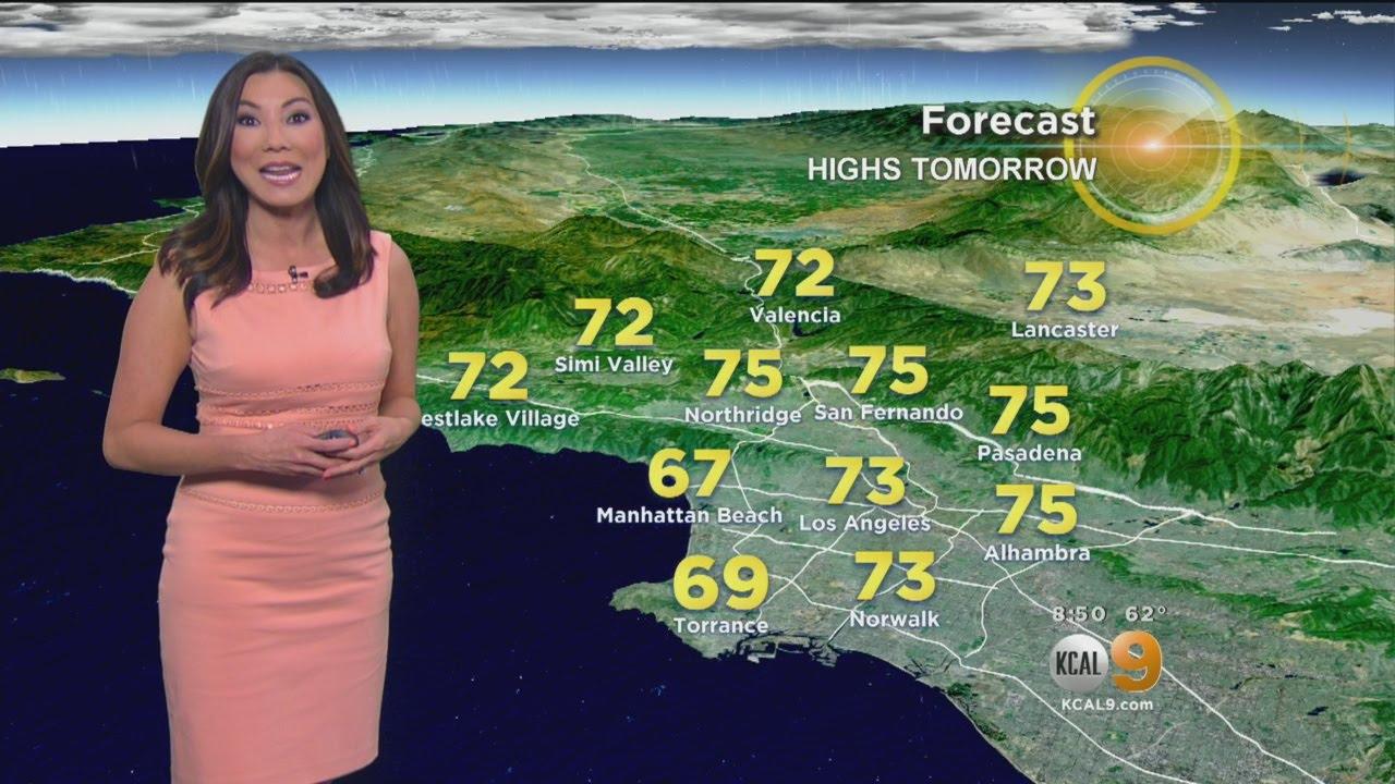 Amber Lee's Weather Forecast (April 11)