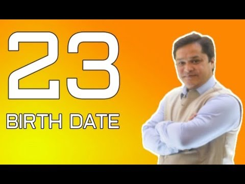 numerology for date of birth 23