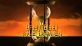 Days of our Lives Closing Credits 2001