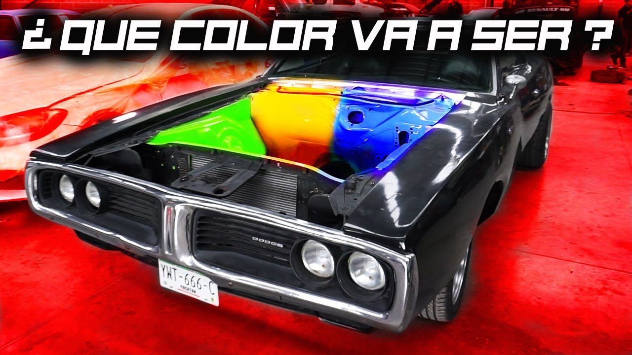 ¡El Charger Regresa! - ¿Qué Color Va a Ser?