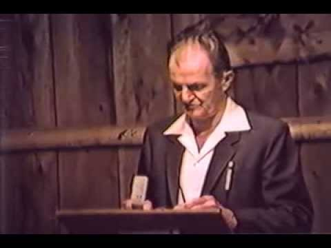 1988 BC Campmeeting - Study 23 - Fred Wright - Communion Service