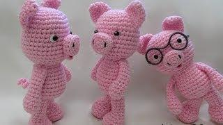 Crochet Little Bigfoot Pig