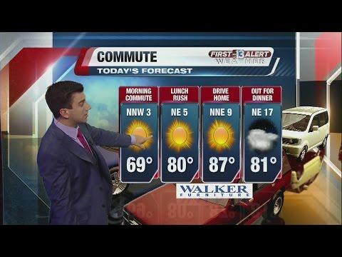 Las Vegas, Nevada weather forecastfor Tuesday, April 5