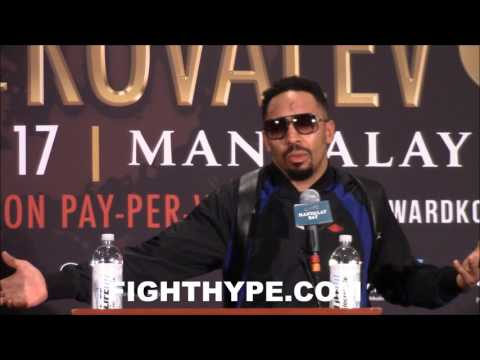 "ANDRE WARD SOUNDS OFF ON ""LOW BLOW"" EXCUSES FROM TEAM KOVALEV; NOTES RABBIT PUNCHES: ""HE WAS OUT"""