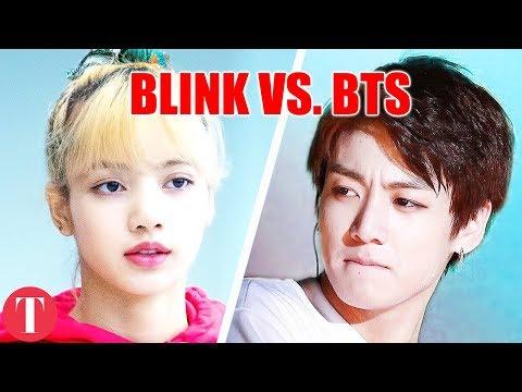BTS Fandom Backlash After BLACKPINK Named Most Popular K-Pop Group