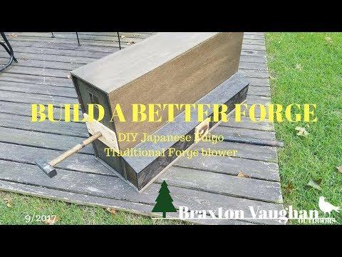 DIY Japanese Forge Bellows (Fuigo) - Part 1