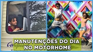 MANUTENÇÕES NO MOTORHOME E TUDO QUE MIAMI TEM DE BOM!