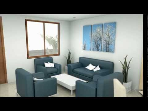 Casa Moderna 600 M X 900 M 2 Pisos Interior Youtube
