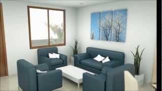 casa pisos moderna interior