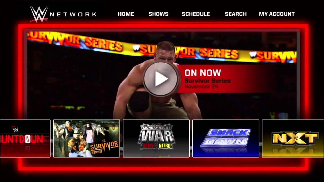 Image result for wwe network launch