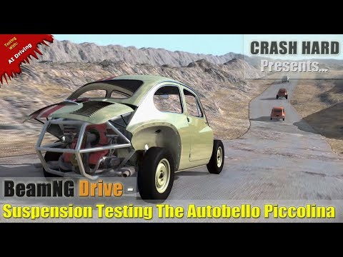 BeamNG Drive - Suspension Testing The Autobello Piccolina