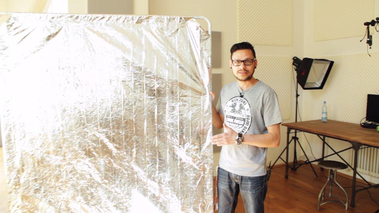 DIY Tipp Reflektor aus einer Rettungsdecke