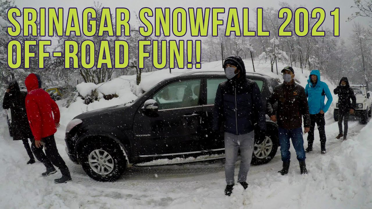 Snow Off-Roading In Srinagar, Kashmir 2021