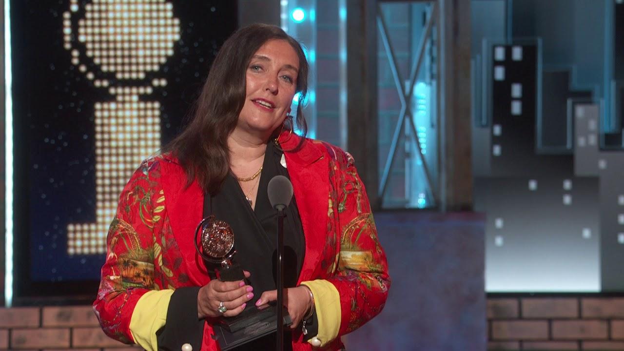 Acceptance Speech: Katrina Lindsay (2018)