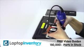 Sony Vaio VPC-SB Hard Drive Replacement Disassembly Take Apart VPC-SA VPCSA VPCSB PCG 41216L