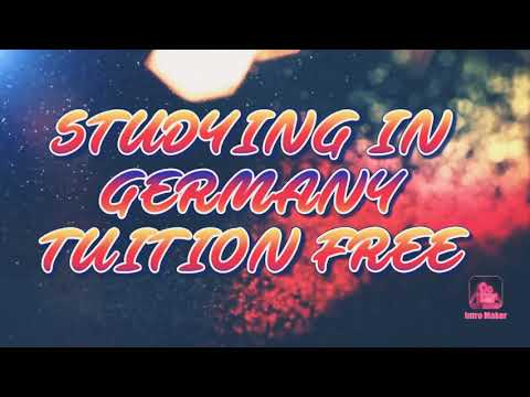 Studying In Germany Tuition Free. University Application