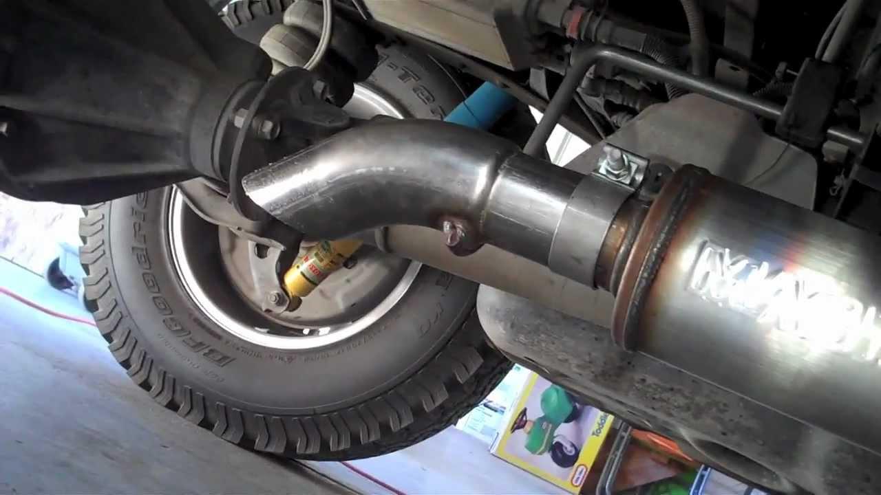magnaflow off road pro series exhaust installation 2008 tundra 5 7l crewmax