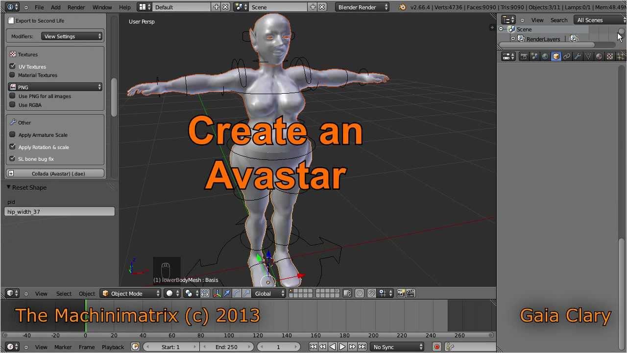 Avastar: Create a Character