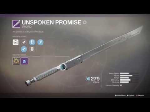 Destiny 2 Infinite Sword Ammo