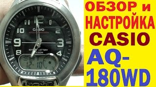 Огляд Casio AQ-180WD