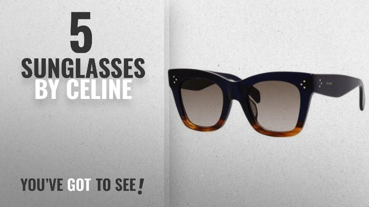 8692174e8db Top 10 Celine Sunglasses  2018   Celine Sunglasses Celine 41098 F S ...