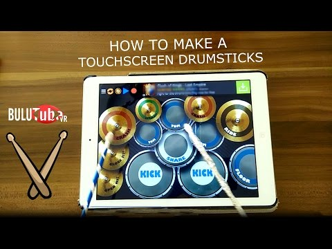 How To Make A Touchscreen DRUMSTICKS! Do it Yourself - Homemade - Easy