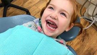 Vampire Tooth - Adley has a Dentist Visit