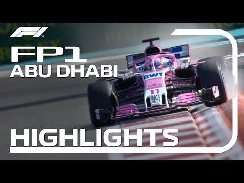 2018 Abu Dhabi Grand Prix: FP1 Highlights