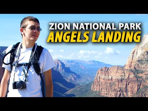 Hiking The ANGELS LANDING Trail In Zion National Park