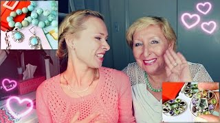 Покупки и подарки украшений - видео с мамой (^^,)(Специальный гурманский десерт для всех тех, кто любит драгоценности, украшения, бижутерию и просто ца-цоч-к..., 2014-10-15T18:16:15.000Z)