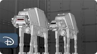 Construction Progresses on Star Wars-Themed Lands   Disney Parks