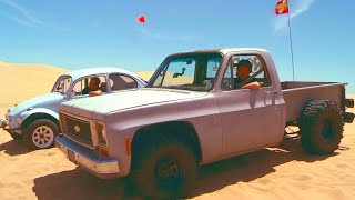 Dune Racing! Chevy C10 Muscle Truck vs. the Baja Bug! | Roadkill | MotorTrend