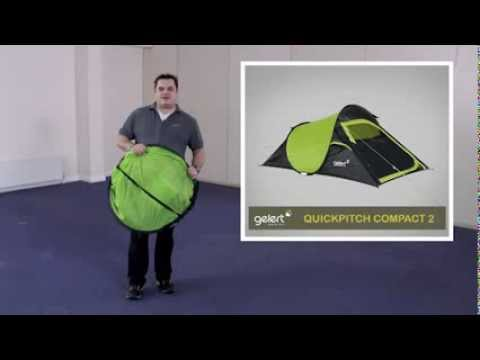 & Gelert Quickpitch 2 Tent - YouTube