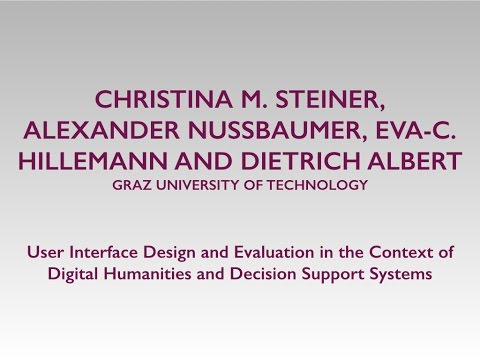 Nussbaumer: User Interface Design and Evaluation