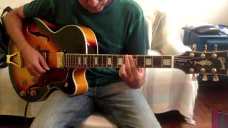 Guitar Comparison: Peerless Gigmaster Jazz vs. Gibson L5 copy from China vs. Gibson 175 original