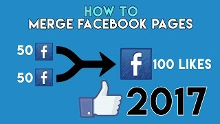 How To Merge Facebook Pages 2017 - Pashto Tutorial