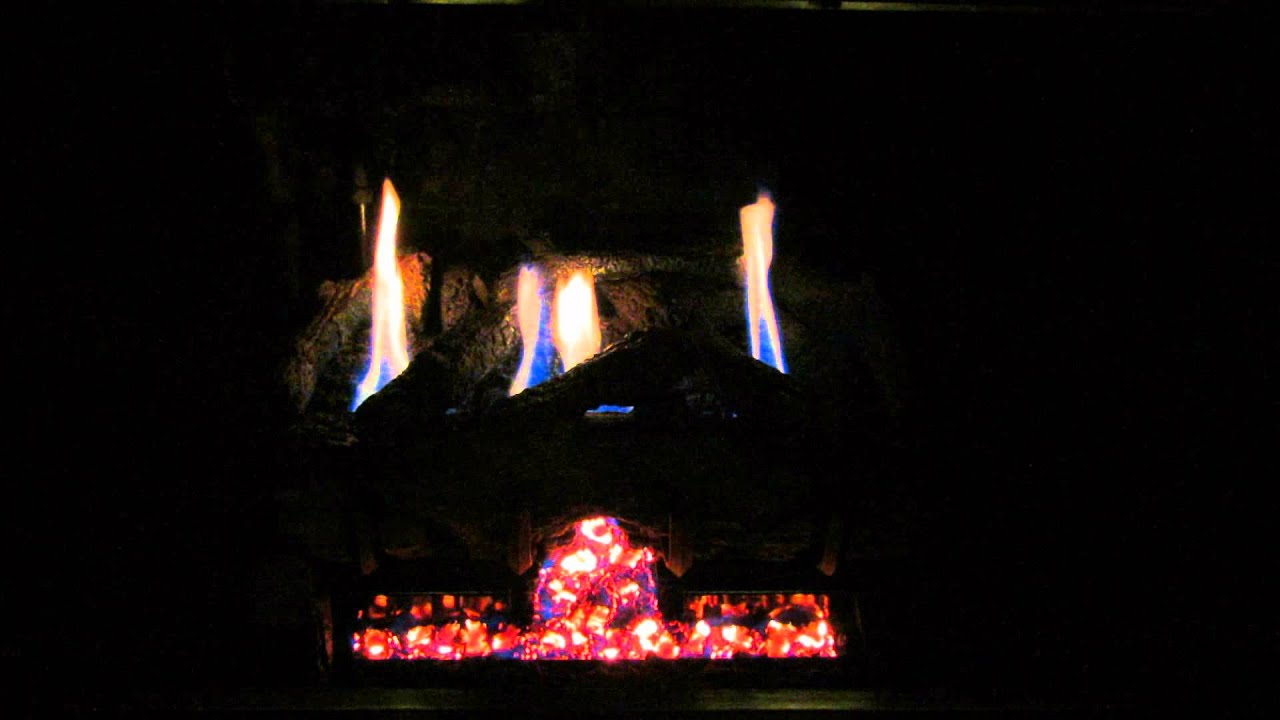 peterson real fyre g10 burner with spilt oak logs youtube